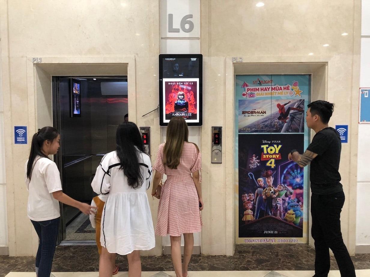 Quảng cáo thang máy: đơn giản, hiệu quả, dễ tiếp cận 1