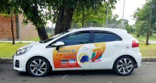 quy định luật quảng cáo trên xe taxi