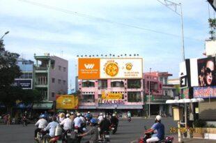 Quảng cáo ngoài trời tại 4 Nguyễn Trung Trực – Tân An – Long An do Ntgroup thực thi