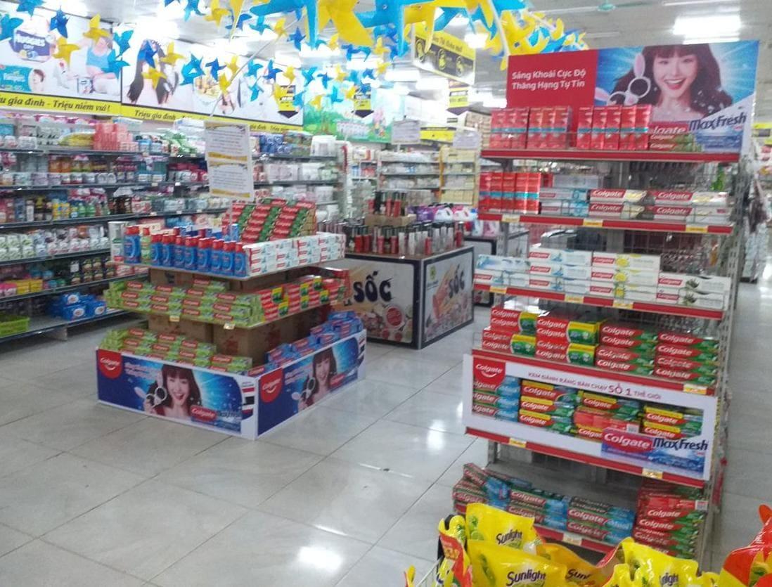 Trưng bày sản phẩm trong siêu thị đẹp