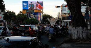 quảng cáo tại màn hình LED 180 Triệu Nữ Vương - Đà Nẵng