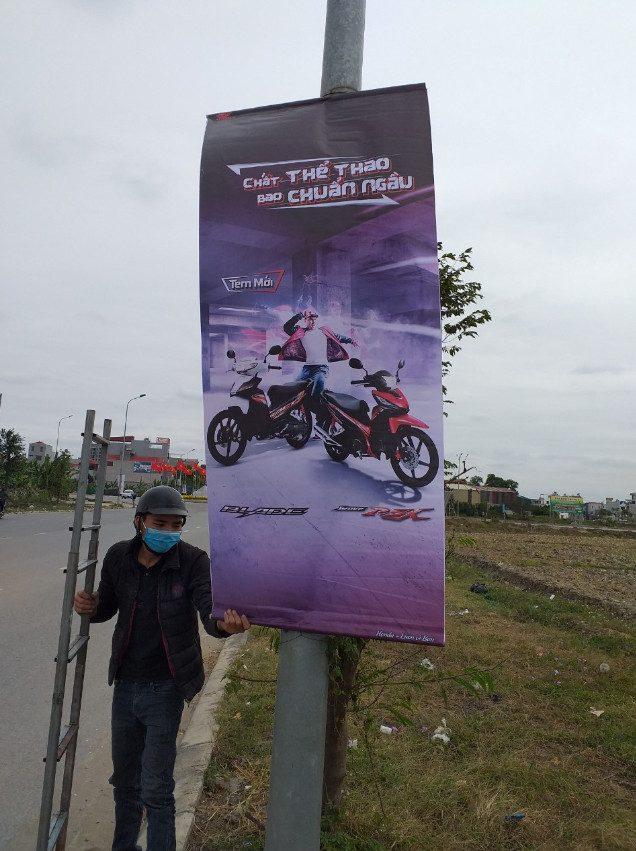 quảng cáo phướn đường phố
