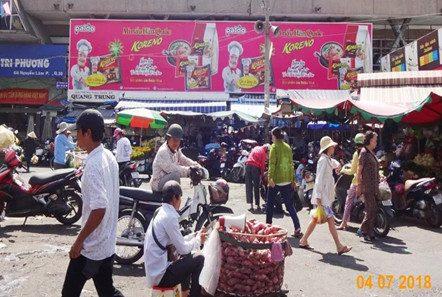 Koreno quảng cáo chợ