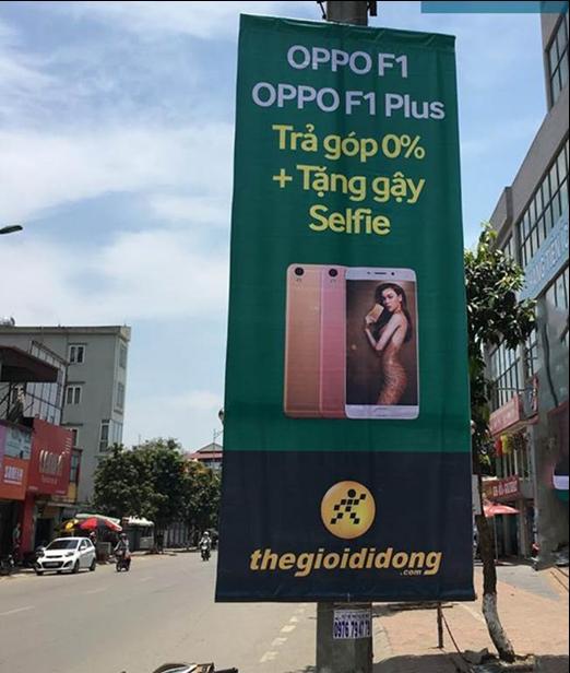 quảng cáo băng rôn/phướn đường phố