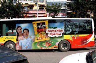 tư vấn quảng cáo trên xe bus