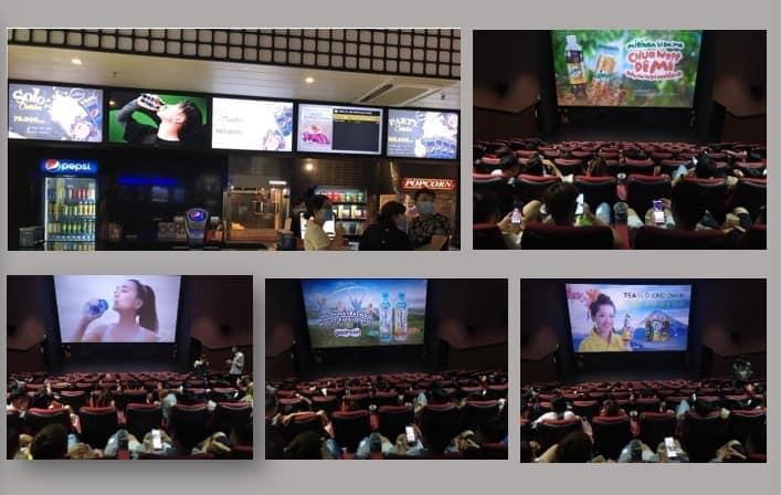 báo giá quảng cáo tại rạp chiếu phim