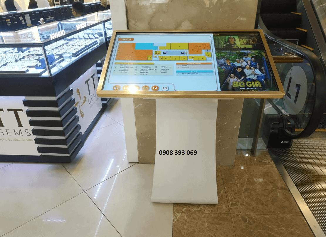 quảng cáo sa bàn trong trung tâm thương mại