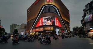 Dịch vụ quảng cáo đèn led ngoài trời tại vincom phạm ngọc thạch hà nội