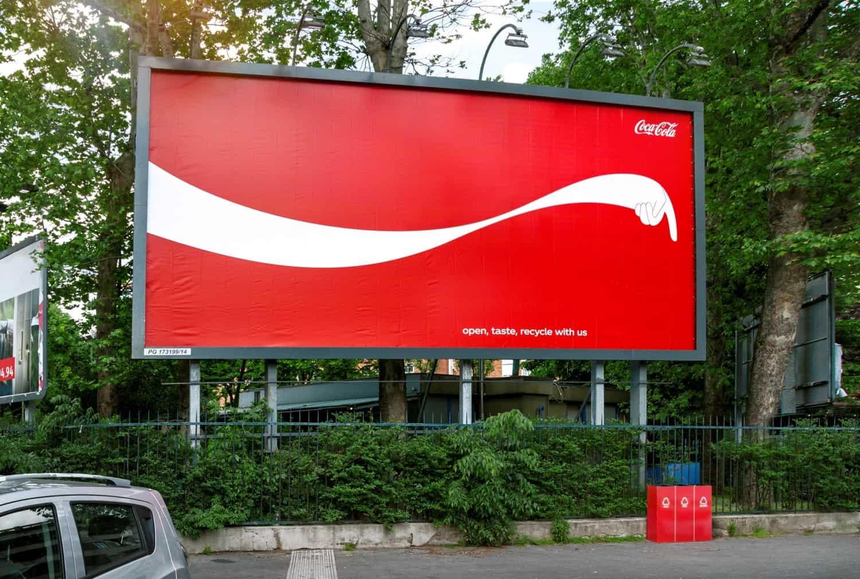 Mẫu biển quảng cáo ngoài trời ấn tượng
