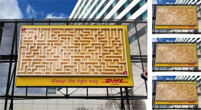 mẫu biển quảng cáo ngoài trời sáng tạo