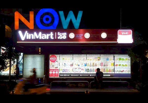 quảng cáo nhà chờ xe buýt ấn tượng