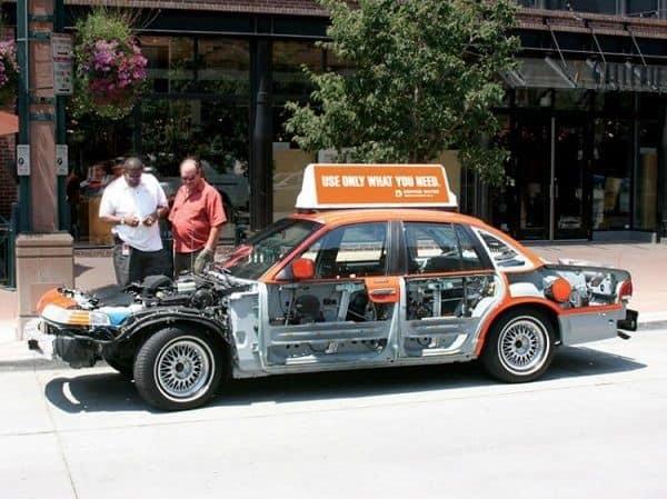quảng cáo trên xe ô tô ấn tượng