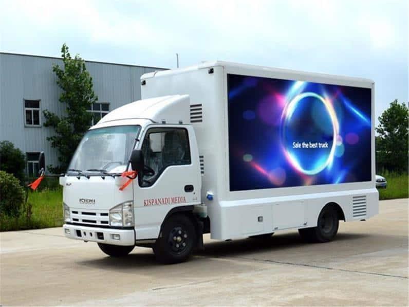 ưu điểm quảng cáo xe tải