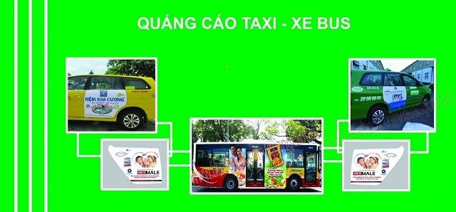 tư vấn quảng cáo xe bus kết hợp taxi