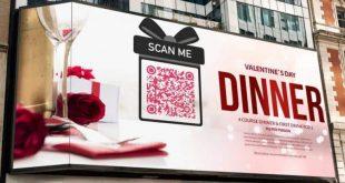 quảng cáo qr code trên dooh
